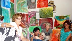 intuïtief schilderen Hong.